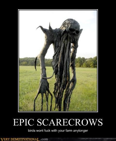 epic if i only had an evil brain Pure Awesome scarecrows