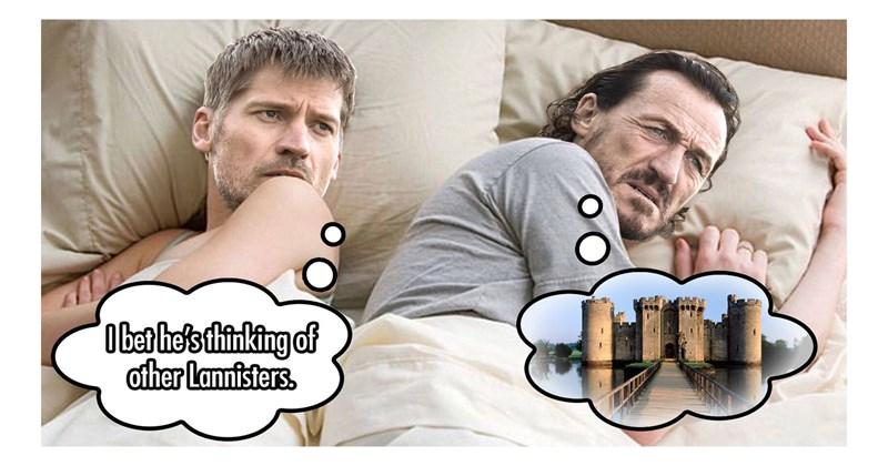 Collection of funny GAme of Thrones memes, Daenerys Targaryen, Jon Snow, Cersei Lannister, Sansa Stark, Arya Stark, Tyrion Lannister, Jaime Lannister, Jorah Mormont, Grey Worm, Missandei