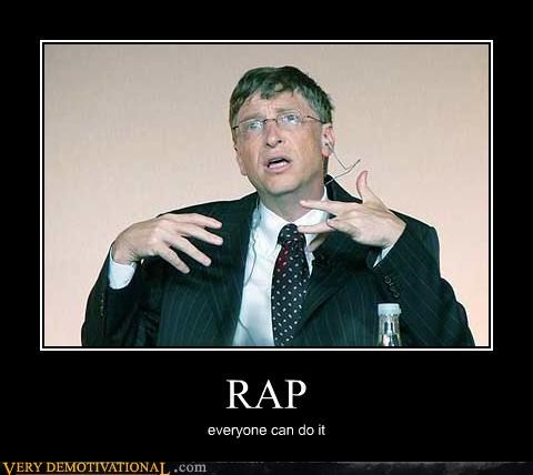 Music wtf rap Bill Gates