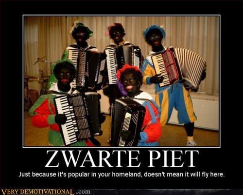 blackface hilarious idiots wtf zwarte piet - 3122729984