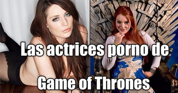 actrices porno game of thrones