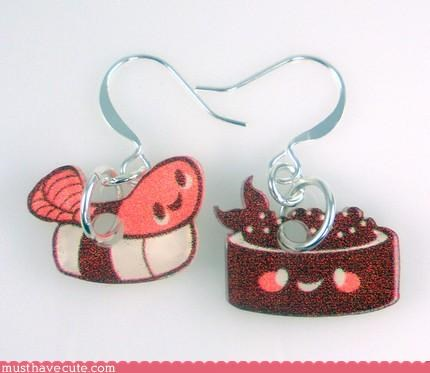 Faces On Stuff food Jewelry sushi - 3124355328