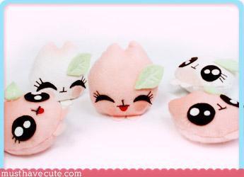 Faces On Stuff food Pastel Plushie toys - 3124529664