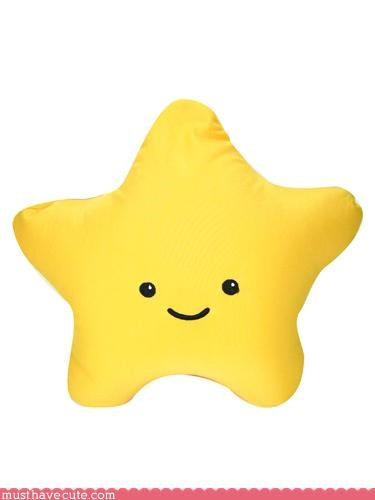 cute Faces On Stuff Pillow Plushie star - 3124583424