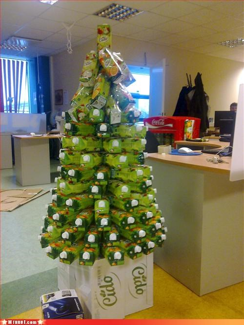 bad timing sorry,boredom,christmas whatever,coal,creativity in the workplace,juice,not the holidays anymore,tree
