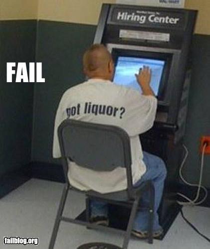 employment g rated job application liquor shirt - 3126626560