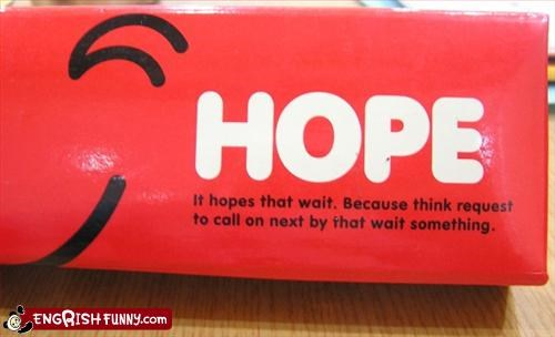 buy g rated hope pencil case think wait - 3129806336