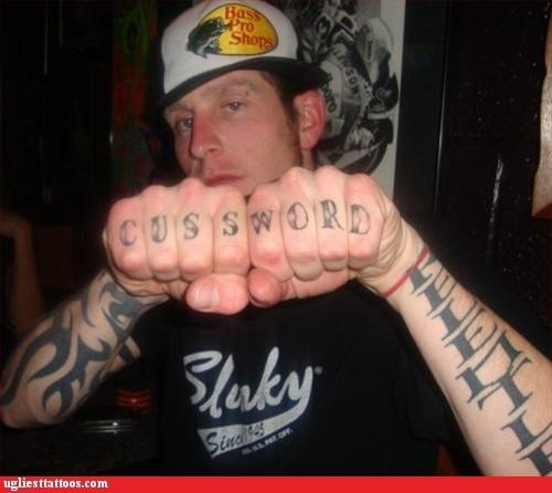 knuckle tats words - 3131550208