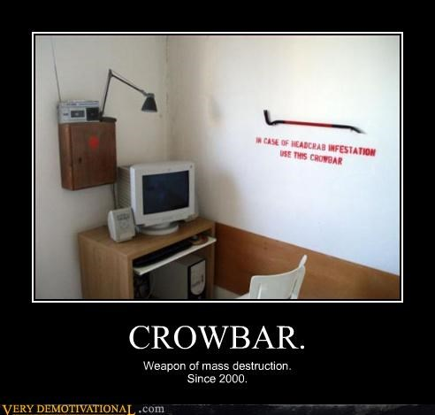 CROWBAR. Weapon of mass destruction. Since 2000.
