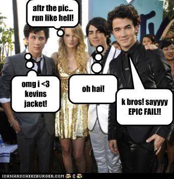 omg i <3 kevins jacket! aftr the pic... run like hell! oh hai! k bros! sayyyy EPIC FAIL!!