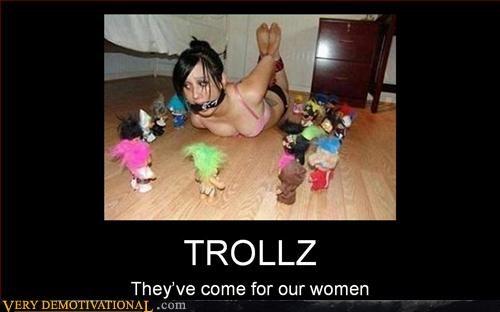 babes freaky hilarious ropes trollz - 3137318656