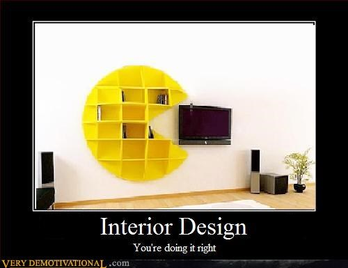 interior design,pacman,Pure Awesome
