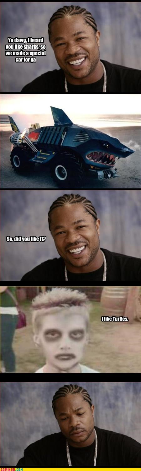 shark car,the internets,Xxzibit,xzhibit,yo dawg,yo dog