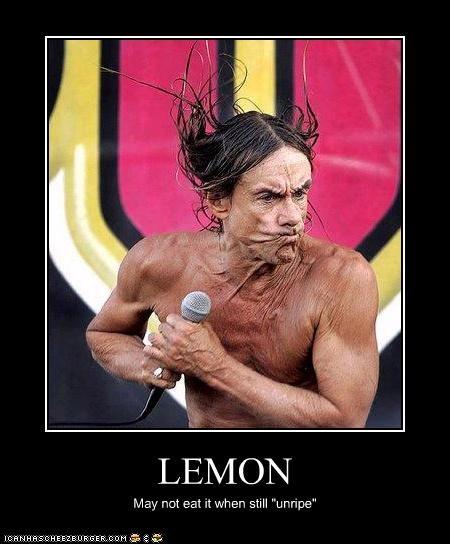 """LEMON May not eat it when still """"unripe"""""""