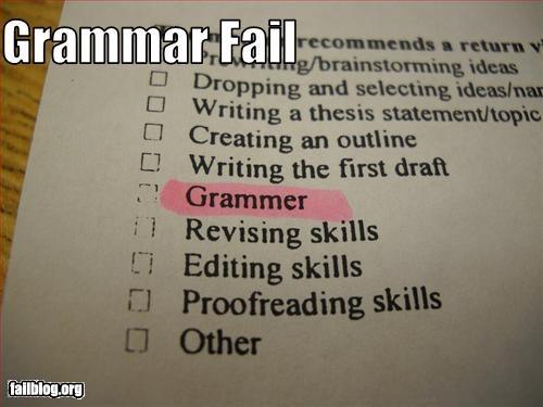 classic failboat grammar school spelling
