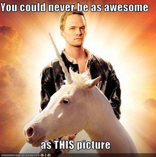awesome,gay,Neil Patrick Harris,unicorn