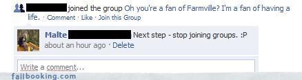 fans of Farmville groups oh snap