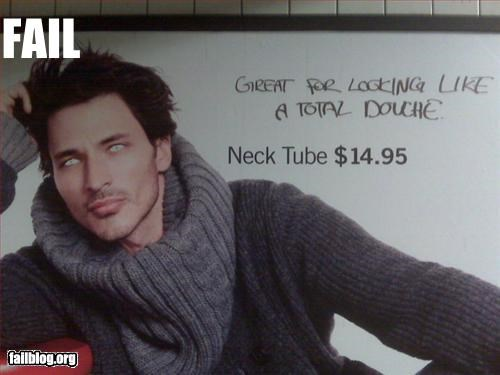 advertisement billboard douchebag graffiti g rated sweater - 3143391232