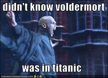 Harry Potter Lord Voldemort ralph fiennes sci fi titanic - 3143775744