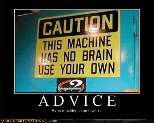 Emotion Is Irrelevant machines have no brain Pure Awesome - 3147393536