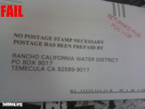 envelope g rated postage returned stamps - 3148828160