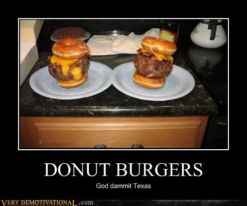 DONUT BURGERS God dammit Texas