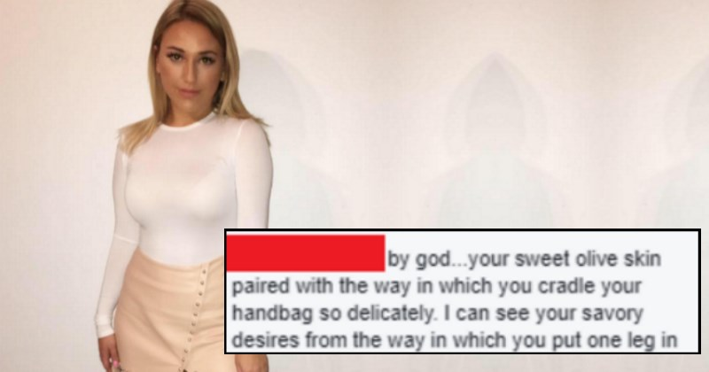 Thirsty Creep Loses All Common Sense and Makes His Move On Facebook