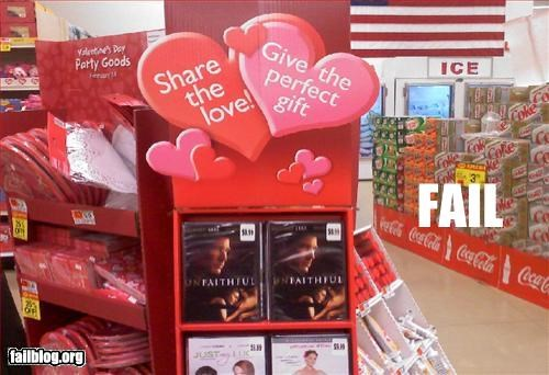 display,failboat,love,movies,unfaithful,Valentines day