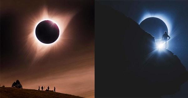 mejores fotos eclipse
