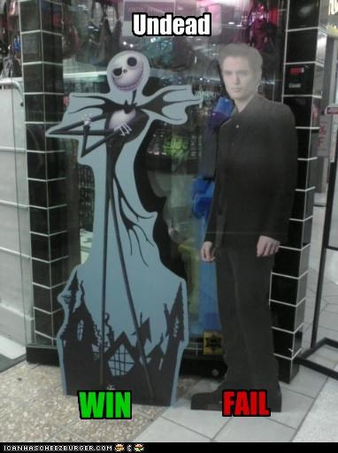 jack skellington robert pattinson the nightmare before christmas twlight undead - 3151014912