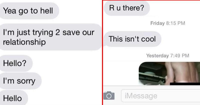 cringe text conversations