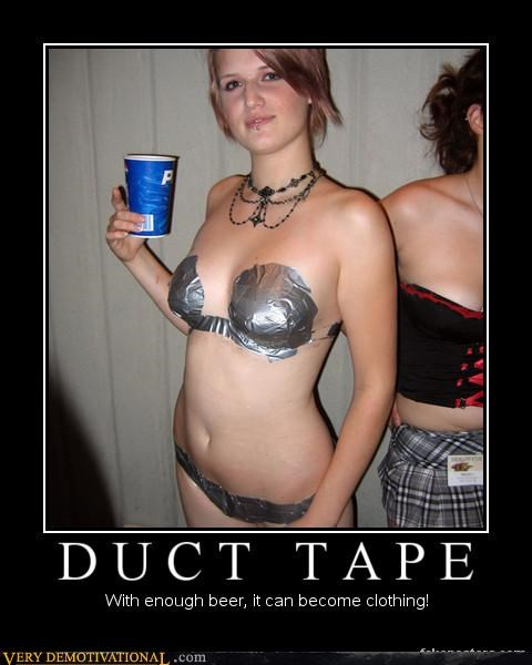 babes beer duct tapes no probs Pure Awesome - 3151935232