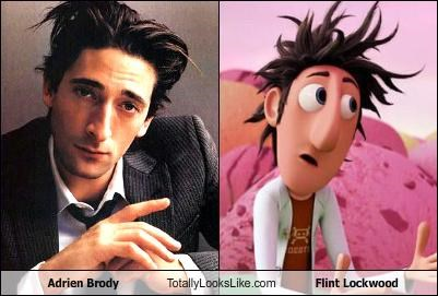 actor adrien brody animation cloudy with a chance of meatballs flint lockwood movies