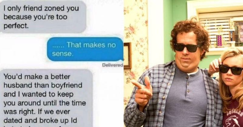 Girl texts guy into the friendzone