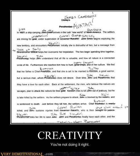 pocahontas Avatar creativity - 3154311936