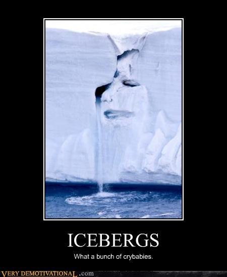 Sad glacier iceberg - 3155500288