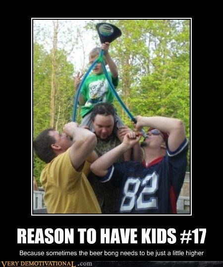 beer,beer bong,kids,Party,Pure Awesome,reasons to have them