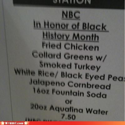 cafeteria cubicle fail dickhead co-workers dickheads food menu paper signs politics racism screw you stereotypes - 3157910016