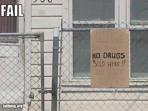 drugs,house,sell,signs,tenant