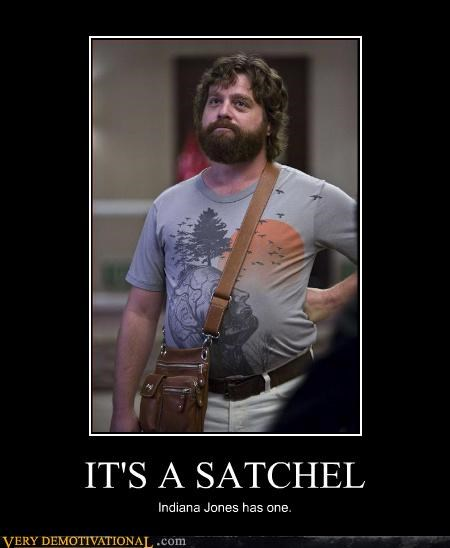 satchel Indiana Jones handsome hangover - 3163318272