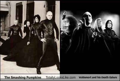band Harry Potter Lord Voldemort Music smashing pumpkins the death eaters - 3165060096