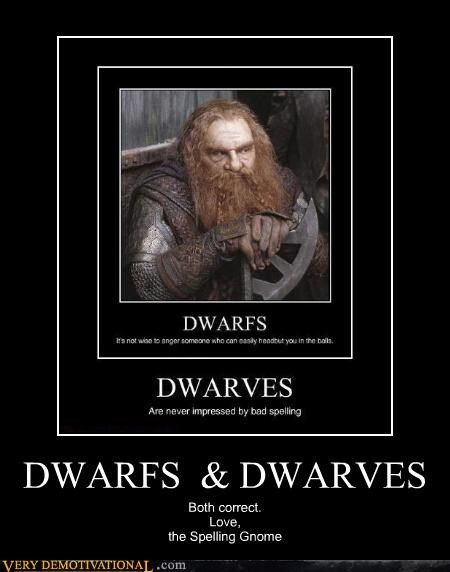 wtf gnome Lord of the Rings dwarves