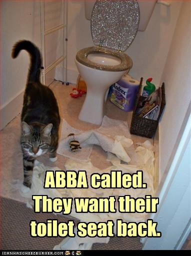 abba,insults,toilet