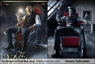book covers Johnny Depp movies poster Sweeney Todd - 3167136000