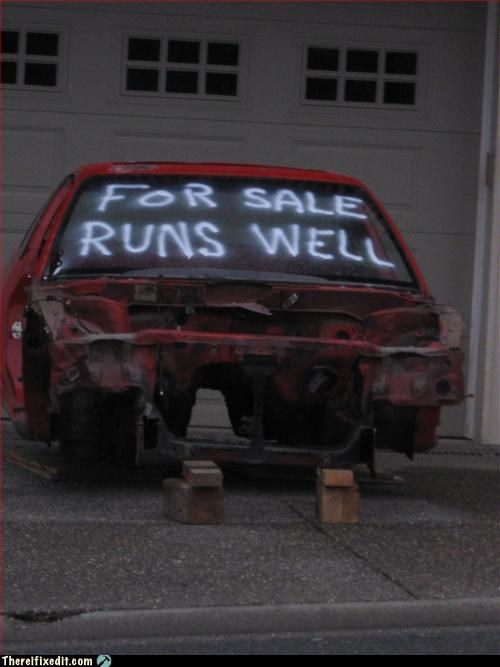 car for sale lies no thanks
