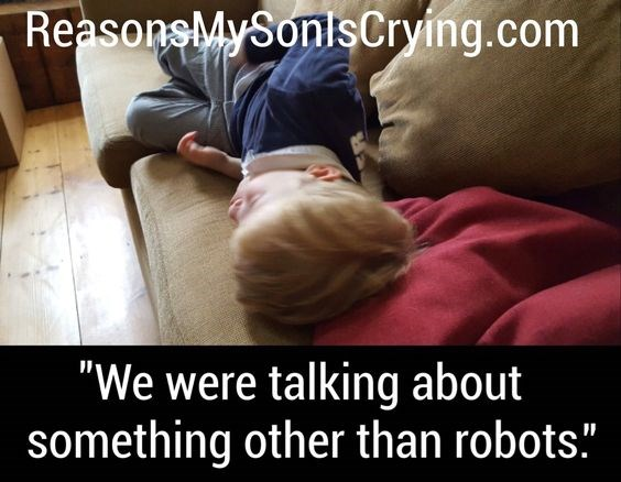 25 times kids cried for very logical reason