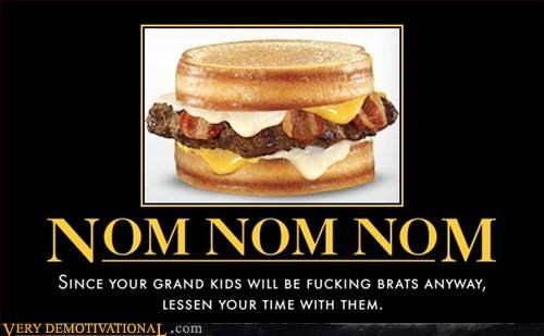 baconator grandkids suck nom nom nom Pure Awesome - 3170361600
