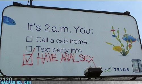 billboard check one option three sexy times - 3170689792