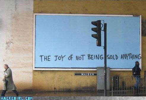 billboard,blank slate,capitalism