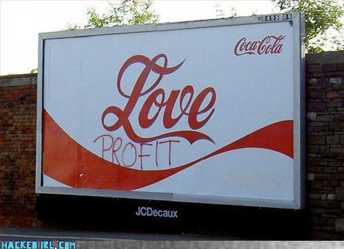 billboard,capitalism,drink